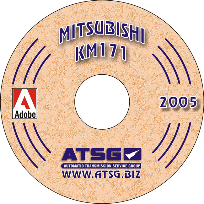 Mitsubishi KM-171 Transmission Repair Manual ATSG